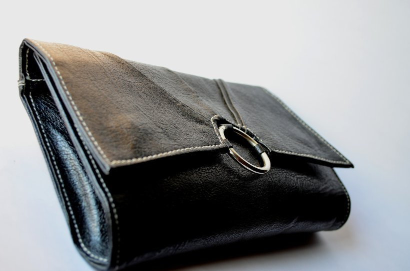 wallet leather goods
